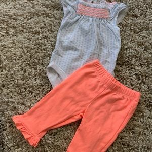 Baby two piece carters set